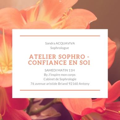 Atelier SOPHRO - CONFIANCE EN SOI