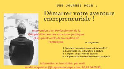 Démarrer votre aventure entrepreneuriale !