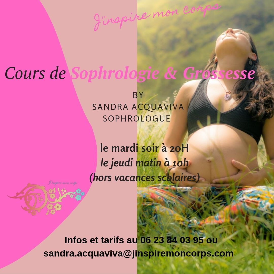 Cours de Sophrologie & Grossesse